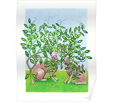 Hares Poster