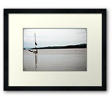 Long Lake Framed Print