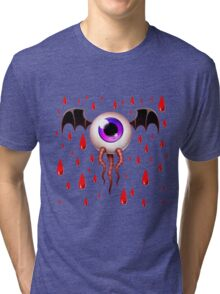 Halloween Eye Tri-blend T-Shirt