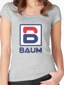 Richie Tenenbaum (Royal Tenenbaums) 'BAUM' Shirt  Women's Fitted Scoop T-Shirt