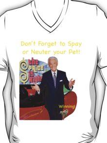 Bob Barker Spay or Neuter Your Pet T-Shirt