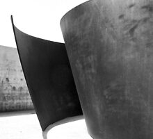 Joe Sculpture, Pulitzer Foundation of the Arts, Richard Serra by Crystal Clyburn