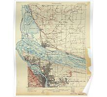 USGS Topo Map Oregon Portland 282794 1905 62500 Poster