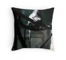 a different kind of truth - that sets the spirit free Throw Pillow