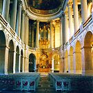 Royal Chapel at Palace of Versailles by Alberto  DeJesus