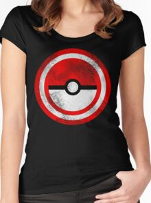 Captain Catch 'Em All Women's Fitted Scoop T-Shirt