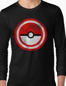 Captain Catch 'Em All Long Sleeve T-Shirt
