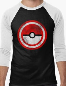 Captain Catch 'Em All Men's Baseball ¾ T-Shirt