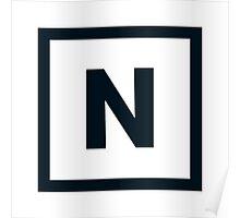 """Alphabet """"N"""" Poster"""