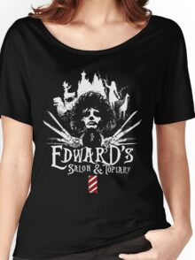 Edward's Salon and Topiary - Edward Scissorhands Women's Relaxed Fit T-Shirt
