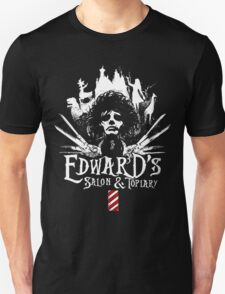 Edward's Salon & Topiary Scissorhands T-shirt