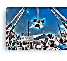 Surrealistic Thrill Ride Canvas Print