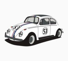 Volkswagen Beetle - Herbie by 3pedaldriving