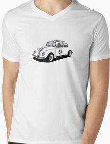 Volkswagen Beetle - Herbie Mens V-Neck T-Shirt