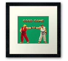 STREET FIGHTER - RYU & KEN Framed Print