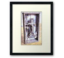 God in a box, number 2 Framed Print