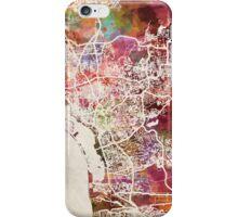 San Diego map iPhone Case/Skin