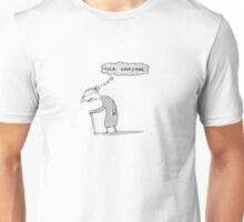 true thoughts Unisex T-Shirt