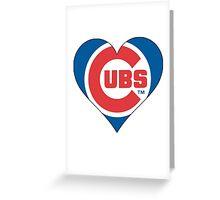 cubs love Greeting Card