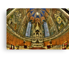 Basilica Della Santa Casa Canvas Print