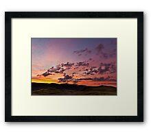 Sunrise over the 'Eastern Fells' Framed Print