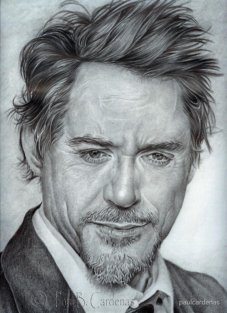 Faces-Robert Downey Jr. by paulcardenas
