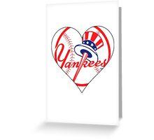 Yankees love Greeting Card