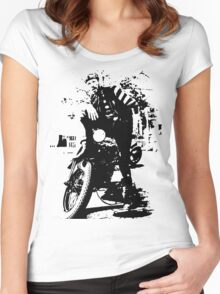 """Chino - The real """"Wild One"""". Women's Fitted Scoop T-Shirt"""