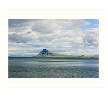 Mt. Reykjaneshyrna Art Print