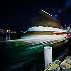 Ferry on the move by Adriano Carrideo