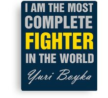Yuri Boyka Quote Canvas Print
