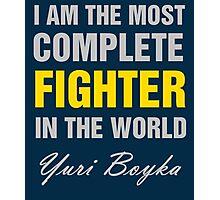 Yuri Boyka Quote Photographic Print