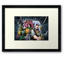 Star Wars tribute to heroes Framed Print