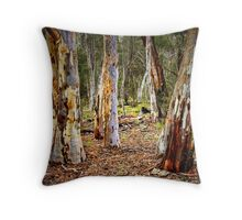 Painted Gums Throw Pillow