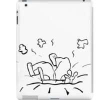 A disaster.. iPad Case/Skin