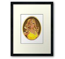 Glamour girl Framed Print
