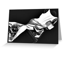 Memories in Black and White Greeting Card