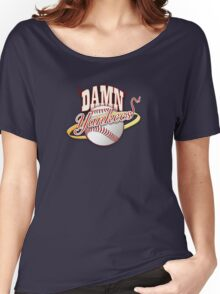 new york yankees Women's Relaxed Fit T-Shirt
