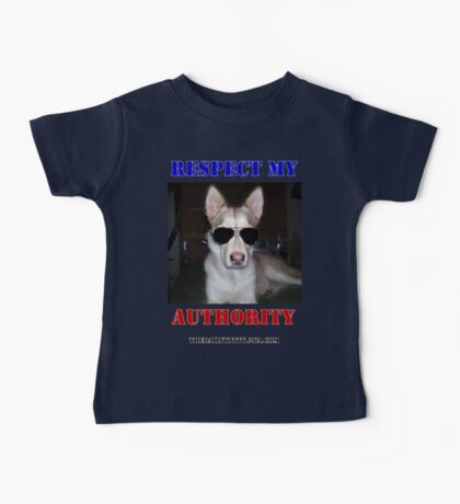 """The Daily Kitty """"Respect My Authority"""" Baby Tee"""