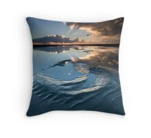 Nudgee Beach - Brisbane - Queensland - Australia Throw Pillow