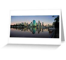 Kangaroo Point - Brisbane - Australia Greeting Card
