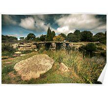 Clappers Bridge, Dartmoor Poster