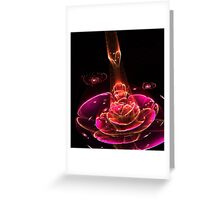Receiver - Abstract Fractal Artwork Greeting Card