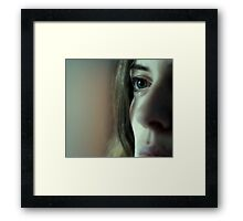 You Do It To Yourself Framed Print
