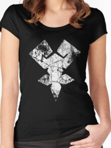 Kingdom Hearts Keyblade Master grunge Women's Fitted Scoop T-Shirt