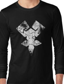 Kingdom Hearts Keyblade Master grunge Long Sleeve T-Shirt