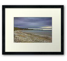 Storm Over North Bay Bridlington Framed Print