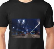 Cars motion street night lights Unisex T-Shirt
