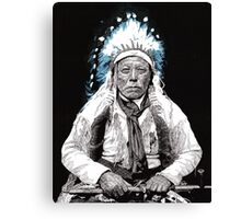 Native American Chief 3 Canvas Print