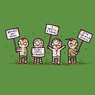 Zombie lives matter! by Randyotter